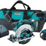 Makita 18V Cordless Lithium-Ion 1/2 in. Hammer Driver-Drill and Circular Saw Kit with Two 3.0Ah Batteries Only $179 Shipped!