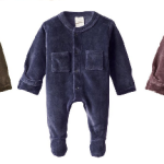L'ovedbaby Organic Cotton Velour Footed Overall From Just $6.68!