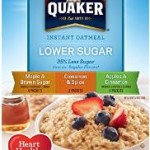 Pack of 4 – 10 Count Boxes of Quaker Instant Oatmeal Lower Sugar Variety Pack For Only $7.48-$8.64 + Free Shipping