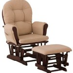 Stork Craft Hoop Glider and Ottoman Set (Cherry/Beige) Just $129.98 w/ Free Shipping