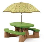 Step2 Naturally Playful Picnic Table with Umbrella For $58.74 Shipped