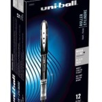 Pack of 12 Uni-Ball Vision Elite Stick Micro Point Rollerball Pens Just $11.49