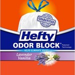 90 Count Hefty Odor Block Tall Kitchen Trash Bags Just $10.58-$12 + Free Shipping