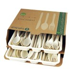 Trellis Earth 108 Heavyweight Bioplastic Combo Cutlery Retail Box Just $3.78!