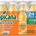 Case of 24 Tropicana Orange Juice 10 Ounce Bottles Just $11.62-$13 + Free Shipping