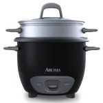 Aroma 6-Cup (3-Cup UNCOOKED) Pot Style Rice Cooker and Food Steamer Just $14.90