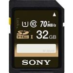 Sony 32GB Class 10 Memory Card Only $6.99!