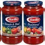 Barilla Pasta Sauce Variety Pack, 24 Ounce, 4 Jars Just $6.79-$7.59 + Free Shipping (Just $1.69-$1.89 Per Jar)