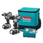 Makita 18-Volt Compact Lithium-Ion Cordless Combo Kit, 2-Piece Set Just $169.99 & Free Shipping