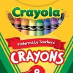 Crayola Classic Color Pack Crayons, Tuck Box, 8 Colors/Box Only 98¢