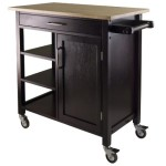 Winsome Mali Kitchen Cart – $115.59 Shipped