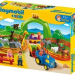 PLAYMOBIL 1.2.3 Large Zoo For Just $34!