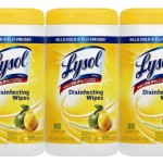 3-Pack Lysol Disinfecting Wipes For Just $5.98-$6.98 Shipped