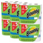 12 Count Bounty Select-A-Size Paper Towels Huge Rolls For $21.99 (Equivalent to 30 Regular Rolls)
