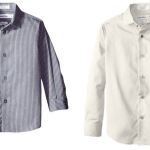 Calvin Klein Little Boys' Long Sleeve Stripe Shirts From Just $5.77!