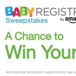 FREE Gift Box or $2,000 Amazon Gift Card Sweepstakes Entry With Free Baby Registry Creation!