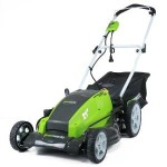 GreenWorks 13 Amp 21-Inch Lawn Mower For Only $140 w/ Free Shipping!