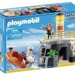 PLAYMOBIL Lighthouse with Rescue Raft Playset Just $14.07!