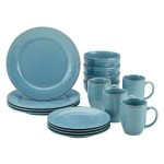 Rachael Ray Cucina 16-Piece Stoneware Dinnerware Set For Just $39