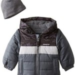 London Fog Baby Boys' Print Block Bubble Jacket From Just $6.20!