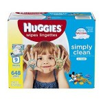 Case of Huggies Simply Clean Baby Fresh Scent Wipes Just $7.02-$8.32 Shipped!