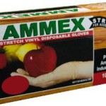 Box of 100 Ammex GlovePlus Stretch Vinyl Disposable Gloves, Latex Free, Powder Free For Just $3.31-$3.70 + Free Shipping!