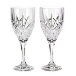 Godinger Dublin Crystal Set of 12 Goblets For Just $45.61