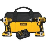 Today Only: DEWALT 20V Max XR Lithium Ion Brushless Compact Drill/Driver & Impact Driver Combo Kit Only $199.99 Shipped!