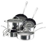 Farberware Millennium Stainless Steel Nonstick 10-Piece Cookware Set Just $84.98 Shipped