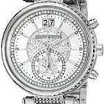 Michael Kors Women's Sawyer Silver-Tone Watch Just $286.88 w/ Free Shipping