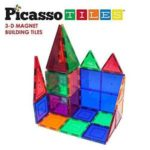 Picasso Tiles Clear 3d Magnetic Building Blocks, 60-piece Set Only $37.99!
