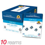 10 Ream Case (5,000 Sheets) of Hammermill Copy Plus MP Paper For $28.99 w/ Free Delivery