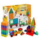 Playmags 100-Piece Magnetic Tiles Deluxe Building Set w/Car & Bonus Bag Just $64.99 Shipped!