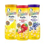6-Count Gerber Graduates Puffs Cereal Snack Variety Pack For Just $7.14-$8.58 + Free Shipping