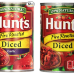 Pack of 12 Hunt's Diced Tomatoes Fire Roasted With Garlic For $10-$11.17 + Free Shipping (83¢-93¢ per can)
