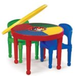 Tot Tutors 2-in-1 Round Plastic Construction Table and 2 Chairs Just $29.24!