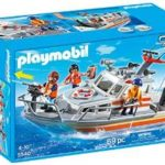 PLAYMOBIL Rescue Boat with Water Hose Play Set Just $26.98!