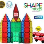 Magnetic Stick N Stack Magnetic Tiles 100 Piece Set with 2 Magnetic Wheel Bases Just $48.99 Shipped!!