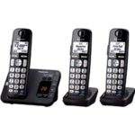 Panasonic DECT 6.0 Expandable Digital Cordless Answering System with 3 Handsets Just $60.95!