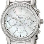 Invicta Women's Angel Analog Display Swiss Quartz Silver Watch Just $41.23!