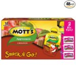 Pack of 48 Mott's Snack & Go Cinnamon Applesauce Pouches Only $20.40-$22.80 + Free Shipping