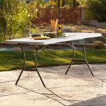 Lifetime 6 Ft. Fold In Half Commercial Table Just $50 Shipped