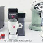 Get A FREE X7.1 Limited Edition, Y5 Duo, or Y3 iperEspresso Machine ($299 Value) w/Purchase of 12 Cans of illy Coffee Capsules!