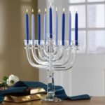The Crystal Menorah by Lenox Only $81.22 Shipped!