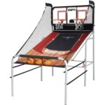 ESPN Premium 2-Player Basketball Game with Authentic Clear Backboard For Just $49