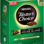 Nescafe Taster's Choice Decaf House Blend Instant Coffee, 20 Count Single Serve Sticks For Only $3.30!