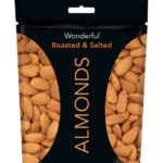 Wonderful Almonds, Roasted and Salted, 7-oz Bag Just $2.74-$3.16 + Free Shipping