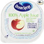 Ocean Spray No Thaw Apple 100% Juice, 4-Ounce Bottles (Pack of 48) Only $11.46-$12.81 + Free Shipping!