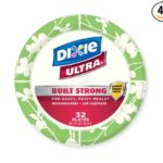 Pack of 4 Dixie Ultra 8 1/2 Inch Disposable Plates 32 Count Just $6.09 – $6.80 + Free Shipping