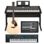 Today Only: Save Up To 45% On Yamaha Keyboards, Guitars, Powered Mixers and Accessories!